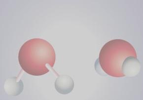 Atomes d'eau