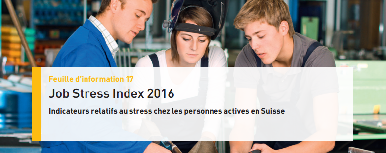 Job Stress Index 2016